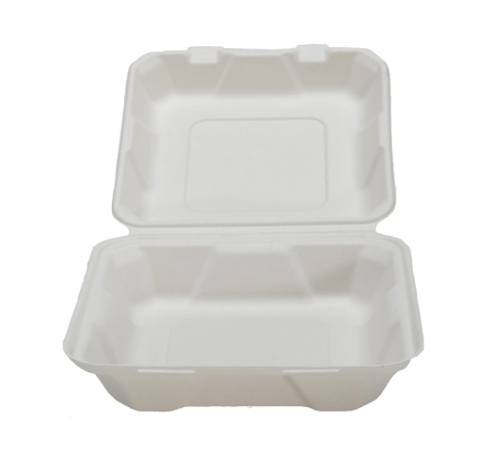 "8"" X 8"" X 2.5"" HINGED CONTAINER - LOW"