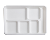 "12.7"" X 8.7"" - 6 SECTION TRAY"