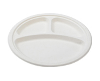 "10"" - 3 SECTION ROUND PLATE"